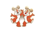 Chip and Dale Golden Mickey Ear Hats