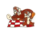 Chip and Dale Turkey Leg Food Picnic