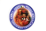 Mickey and Minnie Very Merry Christmas Party 2001 Button