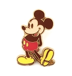 Old Timey Mickey Mouse Gold Tone