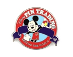 Completer Mickey Pin Trading Around the World