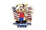 Cruise Captain Mickey July 4th Flag