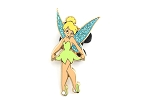 Rare Tinker Bell Curtsey Glitter Wings UK