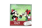 D23 Mickey and Minnie Holiday Button