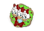 April May June Duck Christmas Holiday Wreath