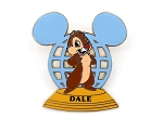 Chip Retro WDW Ear Globe LE