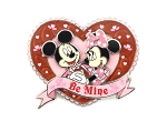 (AP) Minnie and Mickey Dancing Valentine's Day Heart