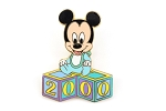 Baby Boy Mickey in Pajamas 2000 Blocks