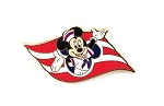 Disney Cruise Line Wave Logo Minnie Mouse DCL