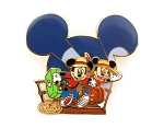 Cruise Gangplank Mickey Minnie Artist Choice DCL