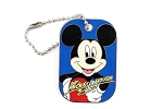 Mickey Autograph Dog Tag with Chain