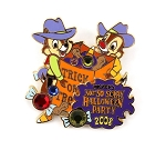 Cowboy Chip and Dale Jeweled Halloween Party