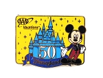Disneyland 50th Anniversary Mickey Castle AAA Vacation