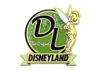 3D Tinker Bell Disneyland Green Original DL