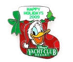 Donald Yacht Club Resort Christmas Stocking
