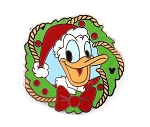 Donald Christmas Holiday Wreath