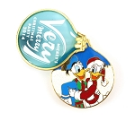 Donald and Daisy Ornament Very Merry Christmas 2014