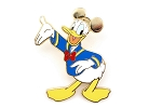 Donald with Golden Ear Hat