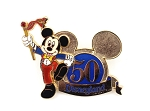 Band Leader Mickey Disneyland 50th Icon