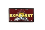 Attraction Vehicle Expedition Everest License Plate EXPEVRST