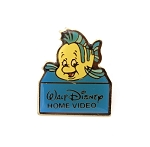 Vintage Flounder Home Video Little Mermaid