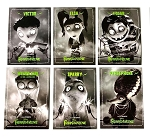 Frankenweenie Set of 6 Unopened Disney Trading Cards