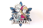Frozen Snowflake - Sisters Anna and Elsa