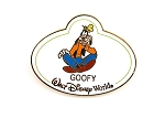 Goofy LE Name Tag WDW Badge