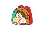 Dwarf Grumpy Backpack Snow White