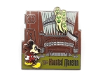 Scared Mickey with Organ Ghost Haunted Mansion