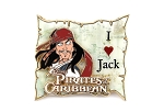 3D I Love Jack Pirates of the Caribbean