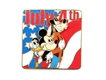 July 4th Donald Mickey Goofy LE