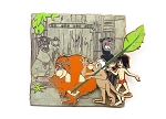 (AP) Jungle Book Mowgli Bagheera Louie 50th Anniversary