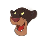Jungle Book Bagheera Head 35th Anniversary