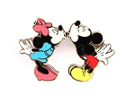 Kissing Couple Mickey and Minnie