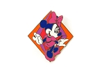 Colorful Kooky Minnie Cast Lanyard Pin