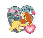 (AP) Lady and Tramp Valentine's Day Heart
