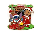 (AP) Lilo Stitch Christmas Present by Fireplace