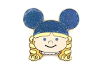 It's a Small World Girl with Blue Ear Hat LE