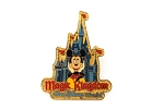 Retro Magic Kingdom Castle Mickey Mouse
