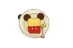 Strawberry Jam Mickey Toast on Plate Disney Treats