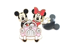 Mickey and Minnie - Driving Pink Car