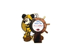 Mickey Helmsman at Ship's Wheel DCL Castaway