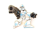 Stormtrooper with Blaster Gun Star Wars