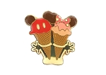 Ice Cream Mickey and Minnie Rare Disney Treats