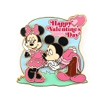(AP) Mickey Kissing Minnie's Hand Valentine's Day LE 500