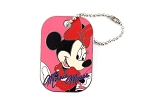 Minnie Autograph Dog Tag with Chain