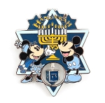 Mickey Minnie Menorah 3D Dreidel Spinner