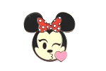 Kissing Minnie Emoji