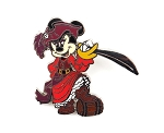 Pirate Minnie Redd with Sword and Barrel